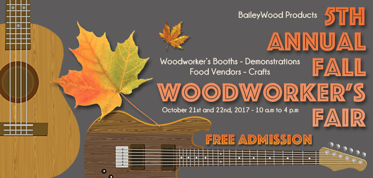BaileyFall Woodworker's Fair Vendor List Preview