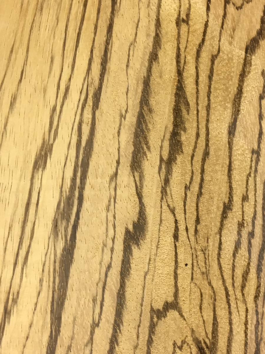 Zebrawood at Bailey Wood Products